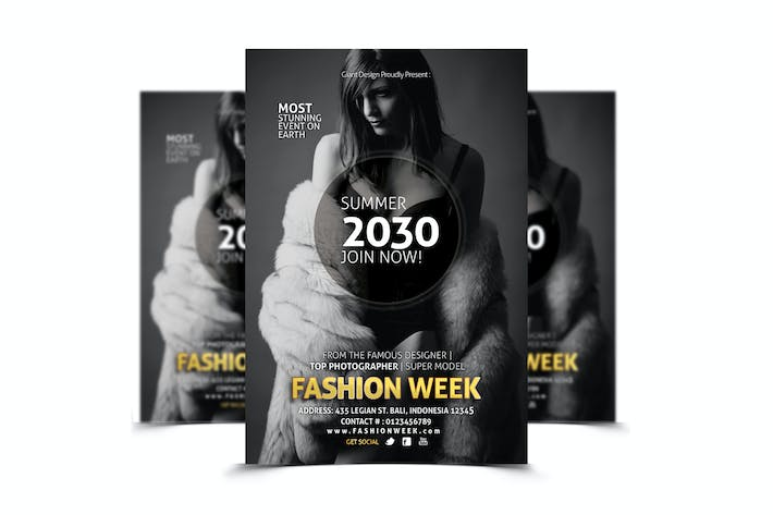 Thumbnail for Fashion Week - Flyer