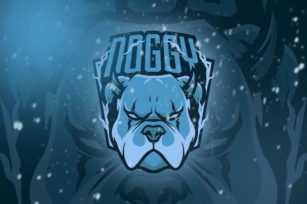 Bulldog Esport Logo Vol. 4