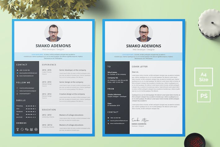 Thumbnail for Resume Template 37
