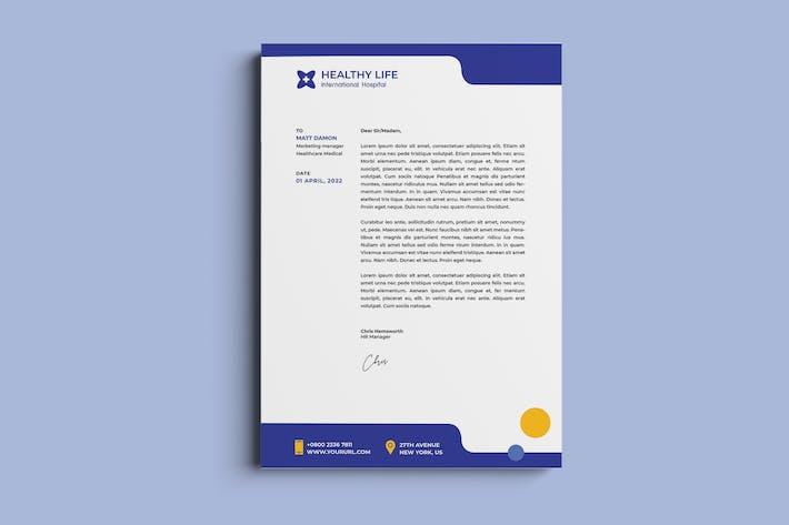 Thumbnail for Medical healthy letterhead