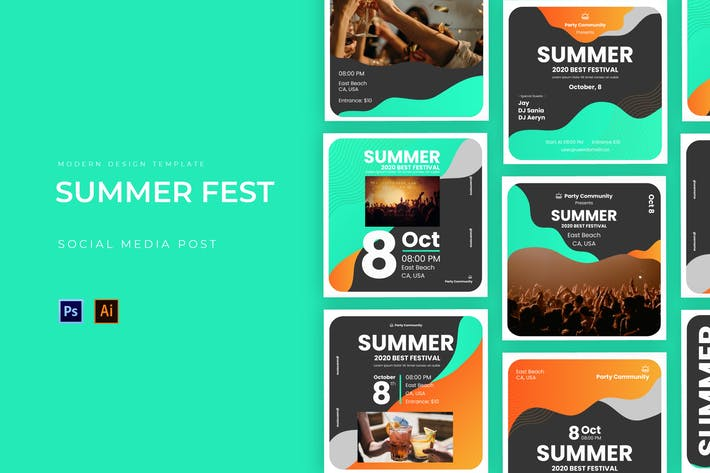 Thumbnail for Summer Fest Instagram Post