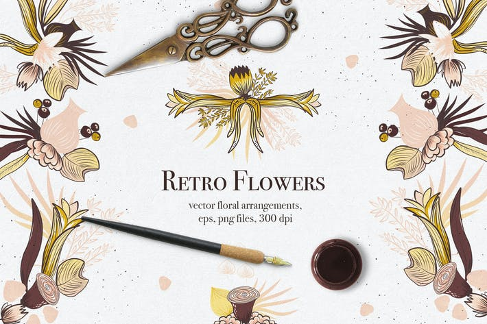 Thumbnail for Retro Flowers