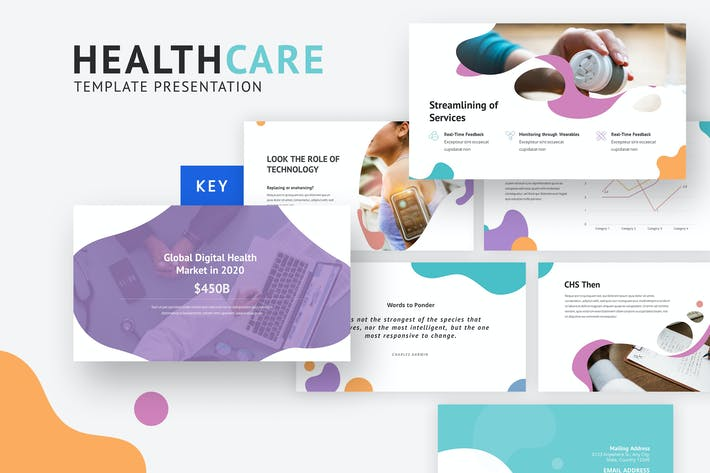 Thumbnail for HealthCare - Creative Keynote Template