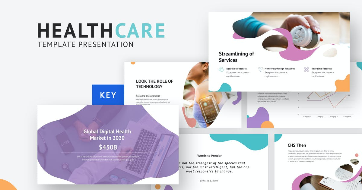 Download HealthCare - Creative Keynote Template by maghrib