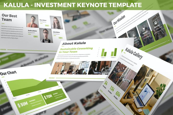 Kalula - Investment Keynote Template