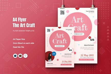 Art Craft Flyer