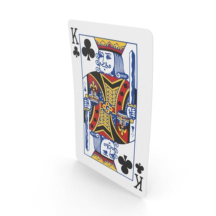 Spielkarten König der Vereine