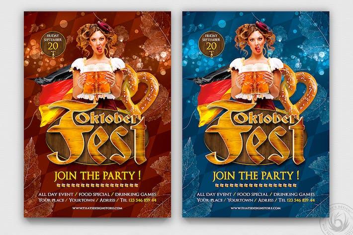 Thumbnail for Oktoberfest Flyer Template V5