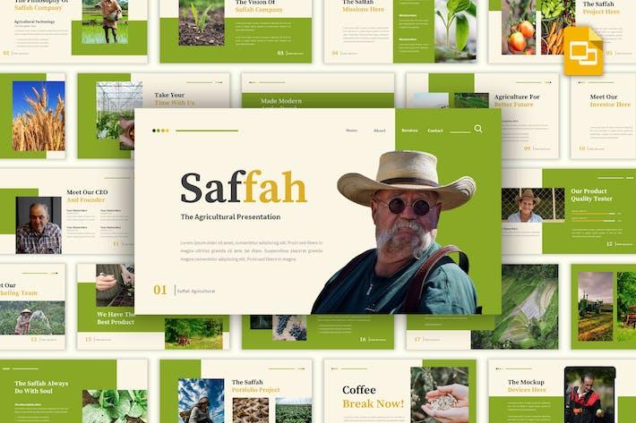 Thumbnail for Saffah - Сельскохозяйственные слайды Google Шаблон