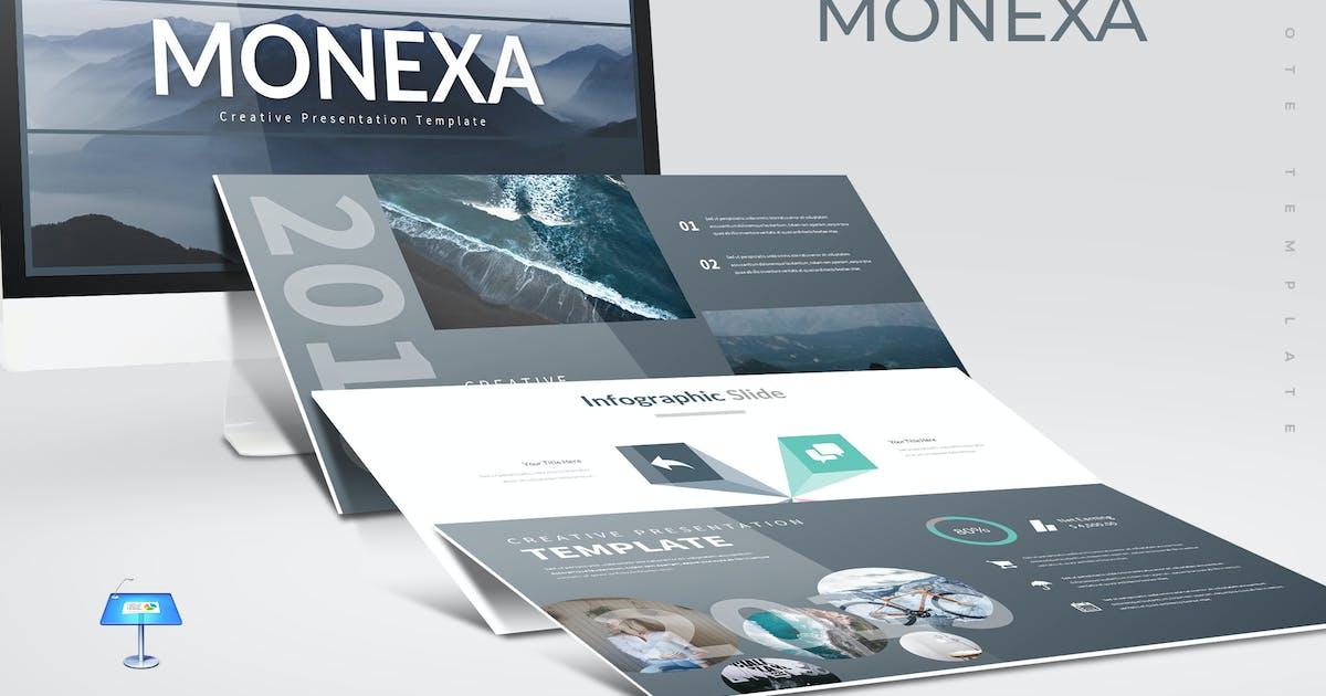 Monexa - Keynote Template by aqrstudio