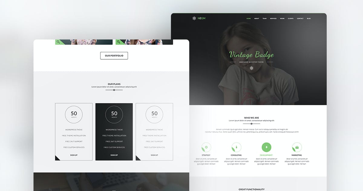 Download Email Newsletter - Negm by Ra-Themes