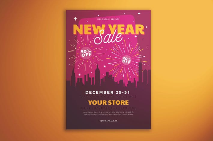 Thumbnail for New Year Sale Flyer Vol. 02