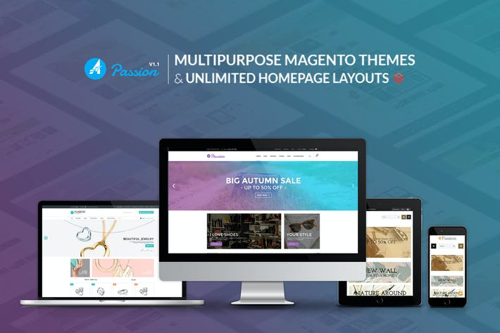 Thumbnail for Passion – Multipurpose Magento Theme