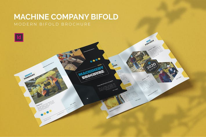 Thumbnail for Machine Company - Bifold Brochure