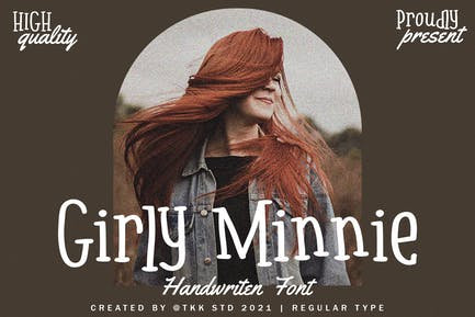 Girly Minnie - Girly Handwritten Font