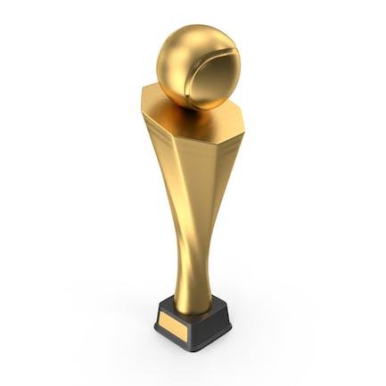 Трофей Кубок Теннис Золото