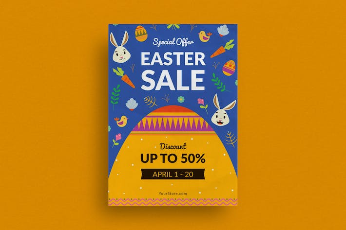 Thumbnail for Easter Day Sale Flyer