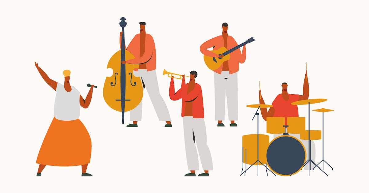 Download Latin Jazz Band by visuelcolonie