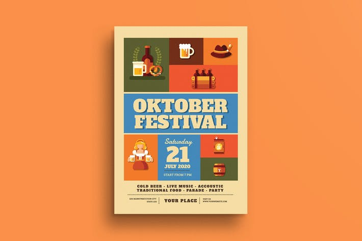 Thumbnail for October Festival Flyer