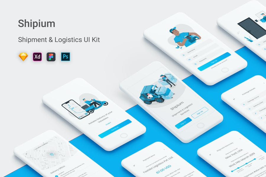 Shipium - Shipment & Logistics Services App