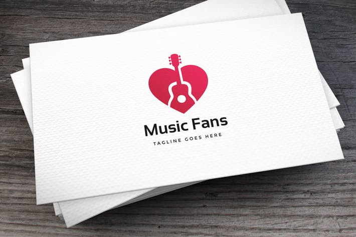 Thumbnail for Music Fans Logo Template