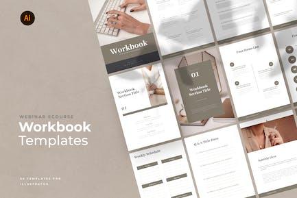 eCourse Workbook Templates