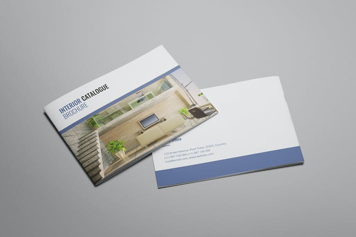 Thumbnail for Zues - Interior Brochure Template