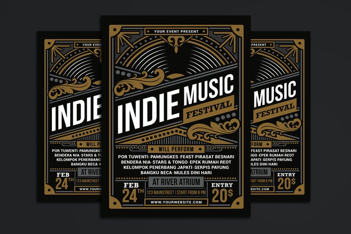 Cover Image For Indie Music Festival