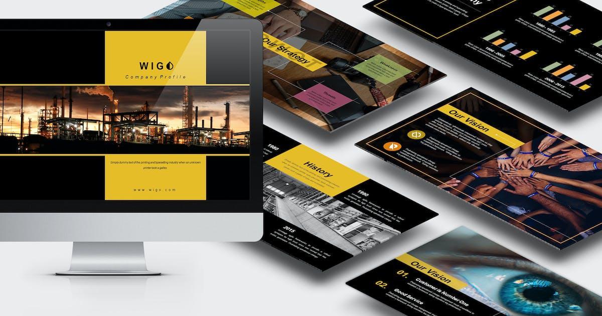 Download Wigo : Architect Keynote Template by punkl