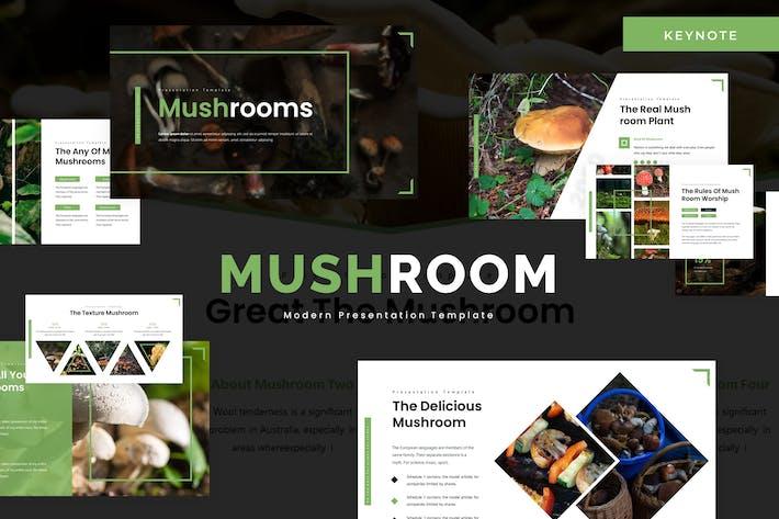 Thumbnail for Mushroom - Keynote Template