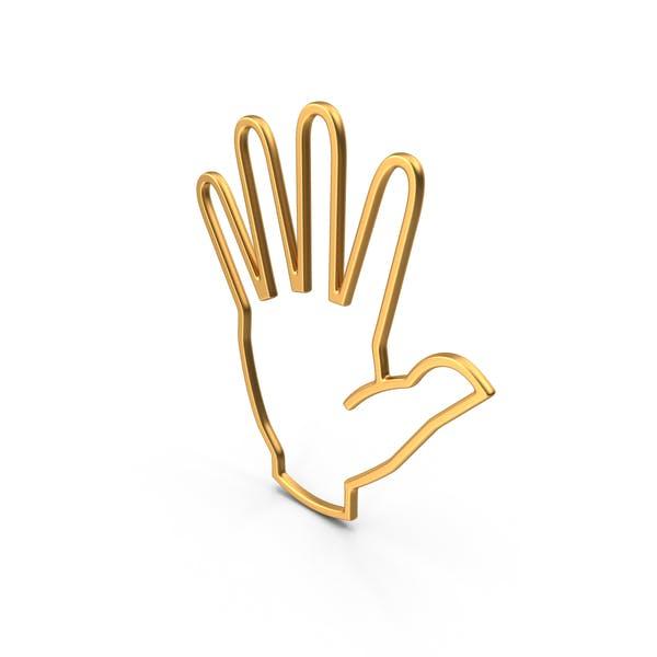 Символ руки Золото
