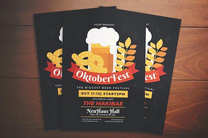 Thumbnail for Oktoberfest Event Flyer