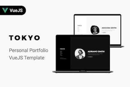 Tokyo - Personal Portfolio VueJS Template