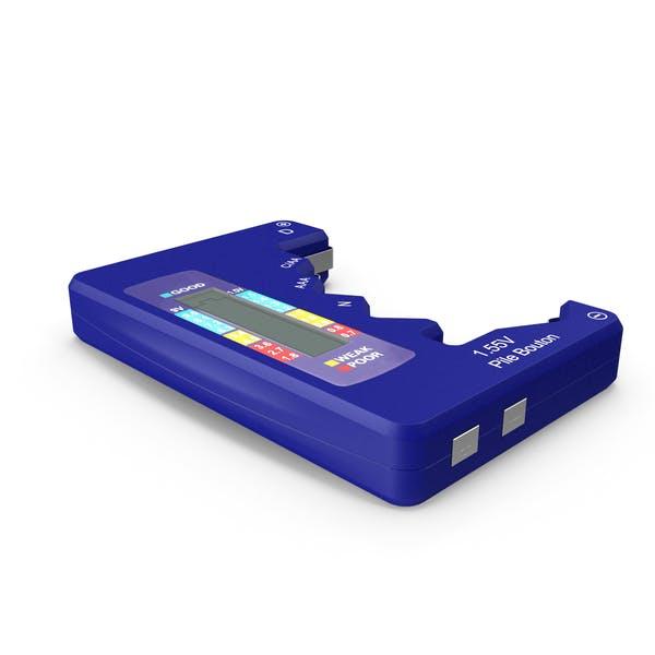 Battery Tester Blue