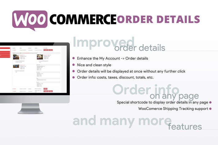 Thumbnail for WooCommerce Order Details