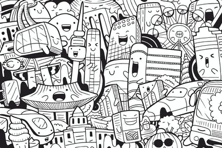Seoul Doodle