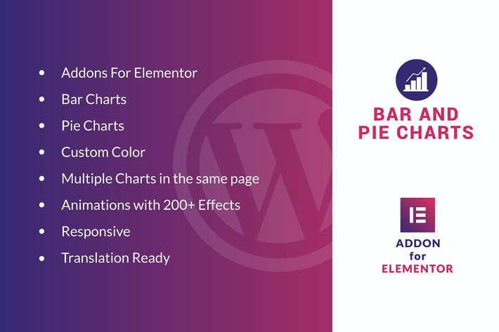 Thumbnail for Bar and Pie Charts for Elementor WordPress Plugin