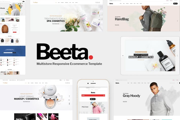 Thumbnail for Beeta - Prestashop Theme