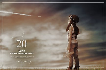 20 Sepia LUTs Pack