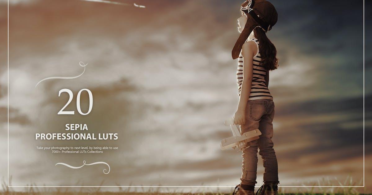 Download 20 Sepia LUTs Pack by Eldamar_Studio