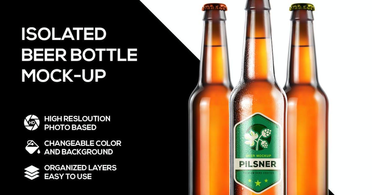 Download Beer bottle mockup by Scredeck