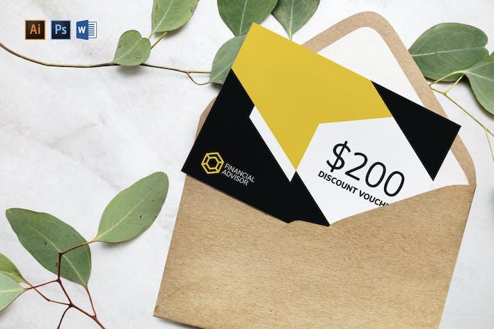 Financial Advisor Gift Certificate