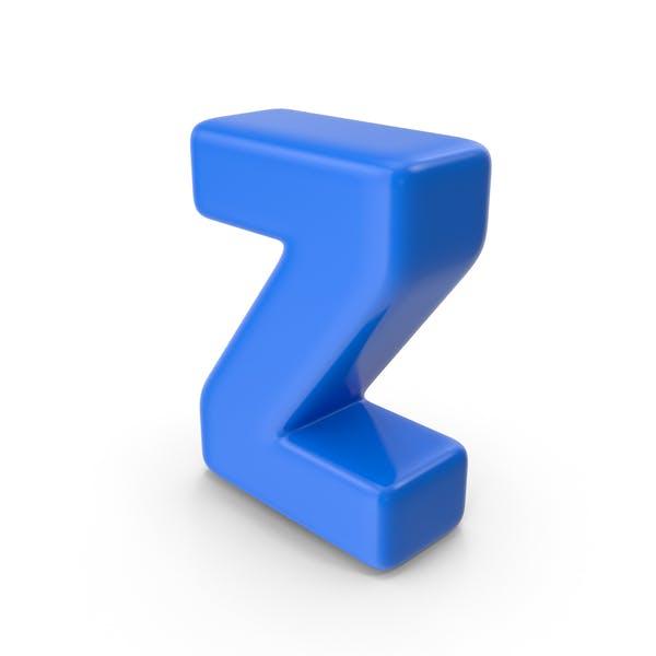 Thumbnail for Blue Letter Z