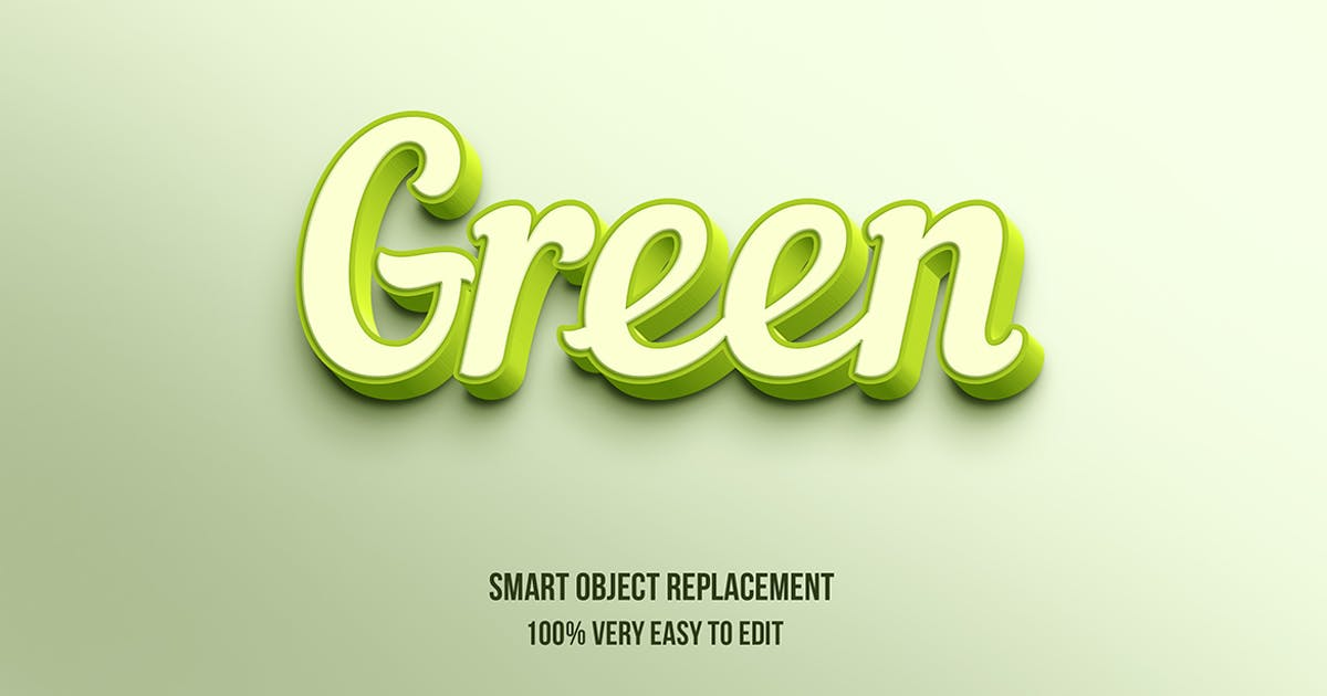 Download Green pastel text effect by wudelmbois
