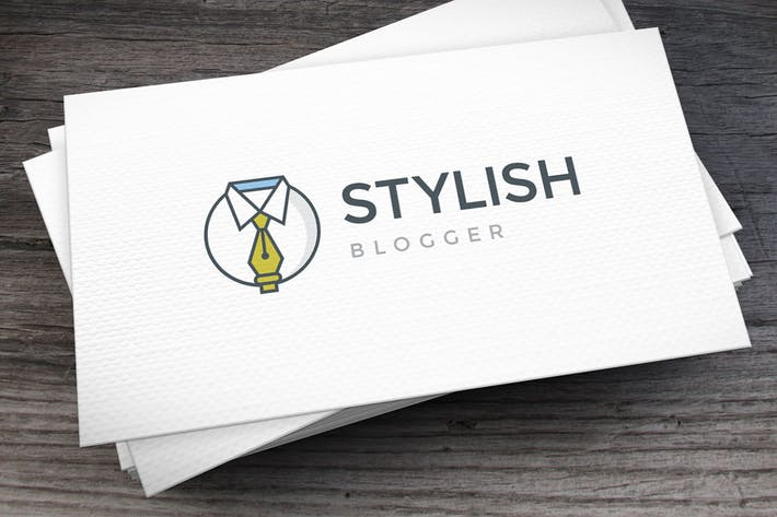 Thumbnail for Stylish Blogger Logo Template