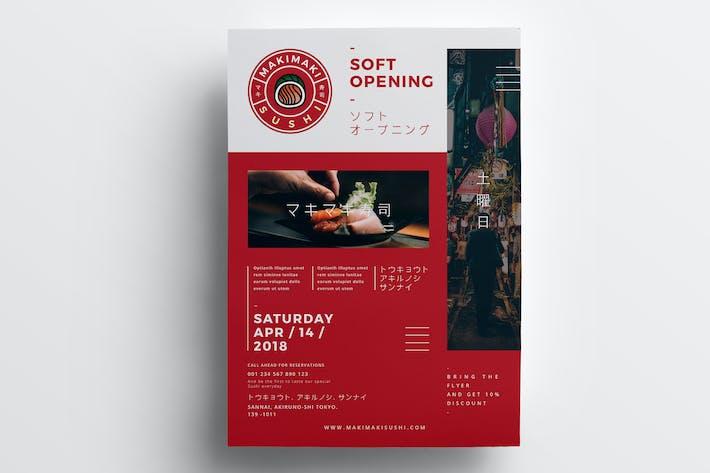 Cover Image For Restaurant Flyer