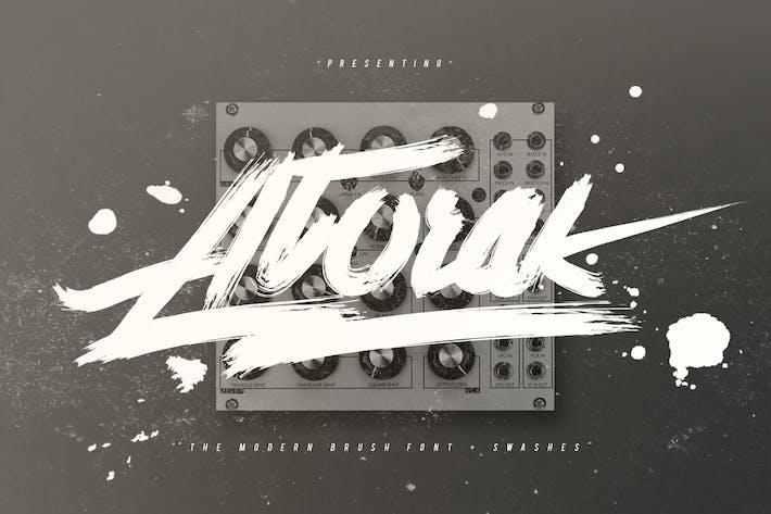 Thumbnail for Atorak Typeface