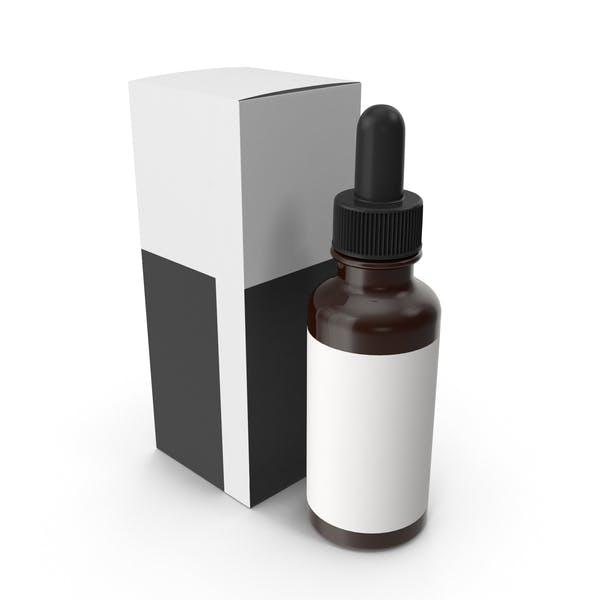 Thumbnail for Amber Glass Bottle Packaging