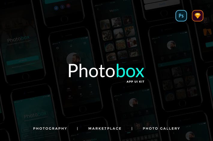 Thumbnail for Photobox Photography App UI KIT