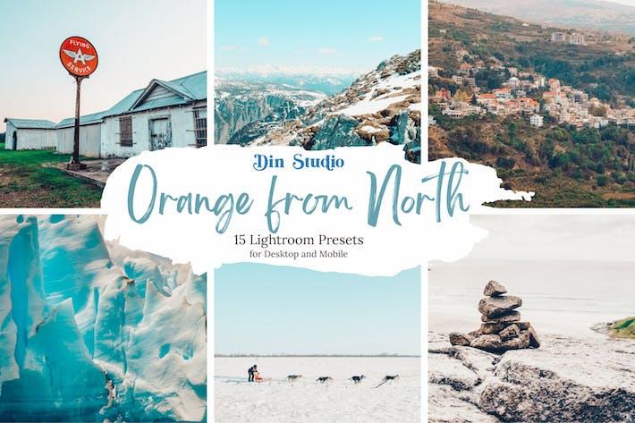 Thumbnail for Orange From North Ajustes preestablecidos de Lightroom